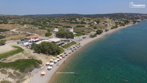 Παραλία της Γριάς ο Φούρνος Χίος