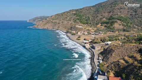 Παραλία Αγιάσματα Χίος